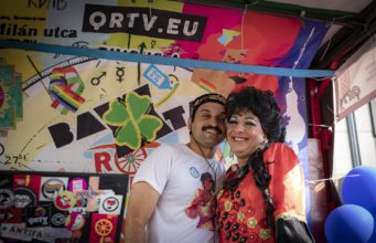 QRTV Baxtaroam - roma kamion a Budapest Pride-on 2019