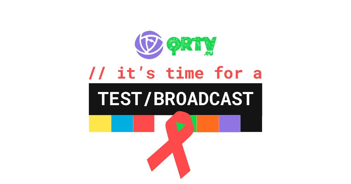 QRTV Test/Broadcast